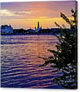 Sunset Over New Orleans 1 Canvas Print