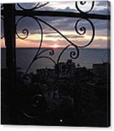 Sunset Over Puerto Vallarta Canvas Print