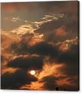 Sunset Over San Francisco Bay Canvas Print