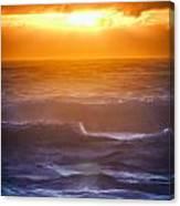 Sunset Over The Ocean IIi Canvas Print