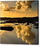 Sunset Over The Ocean V Canvas Print