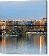 Sunset Over Watergate Canvas Print