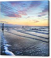 Sunset Paradise Jekyll Island  Canvas Print