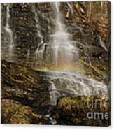 Sunset Rainbow At Amicalola Falls Canvas Print