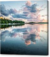Sunset Relections Canvas Print