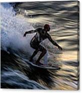 Sunset Ride 2 Canvas Print