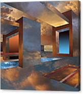 Sunset Room Canvas Print