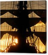 Sunset Sails Canvas Print