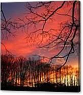 Sunset Spectacular Canvas Print