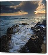 Sunset Spillway Canvas Print