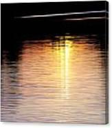 Sunset Streaks Canvas Print