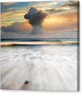 Sunset Talisker Bay Canvas Print