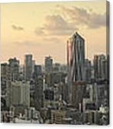 Sunset Tokyo Tower Panorama Canvas Print