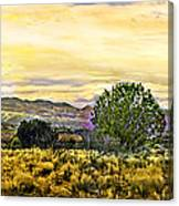 Sunset Verde Valley Thousand Trails Canvas Print