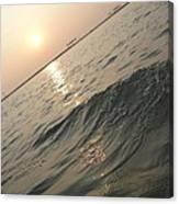 Sunset View Canvas Print