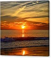Sunset's Glow  Canvas Print