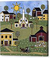Sunshine And Dasies Canvas Print