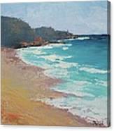 Sunshine Beach And Lions Head Noosa Heads Queensland Canvas Print