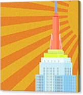 Sunshine City Canvas Print