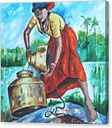 Sunshine Girl Canvas Print
