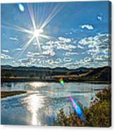 Sunshine On The Missouri Canvas Print