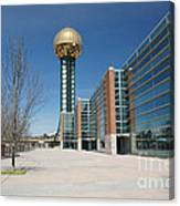 Sunsphere Knoxville Tn Canvas Print