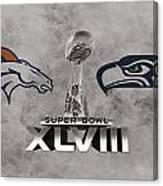 Super Bowl Xlvlll Canvas Print