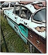 Super Chevy II Canvas Print