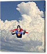 Super David Canvas Print