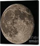 Super Moon 3626 August 2014 Canvas Print