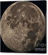 Super Moon 3628 August 2014 Canvas Print