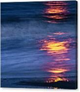 Super Moon Reflection Canvas Print