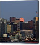 Super Moon San Diego Canvas Print