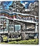 Super Slide Canvas Print