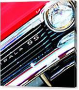 Super Sport 2 - Chevy Impala Classic Car Canvas Print