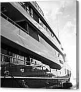 Super Yacht Canvas Print