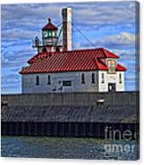 Superior And Duluth Harbor Lighthouse Canvas Print