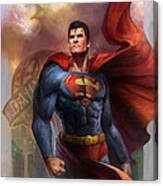 Man Of Steel Canvas Print