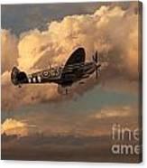 Supermarine Spitfire Mk Lfix  Canvas Print
