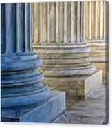 Supreme Court Colunms Canvas Print