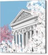 Supreme Court Washington Dc Canvas Print