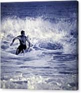 Surf At Summer Canvas Print