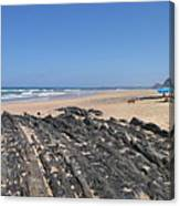Surf Beach Portugal Canvas Print