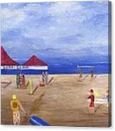 Surf Camp Canvas Print