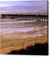 Surf City Pier Canvas Print