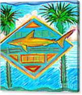 Surf Crest Canvas Print