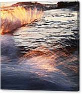 Surf On Fire-1 Canvas Print