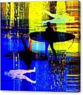 Surf Popar Canvas Print
