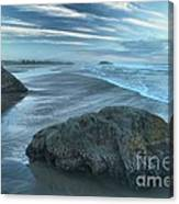 Surf Statues Canvas Print