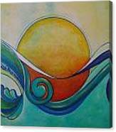 Surf Sun Spirit Canvas Print